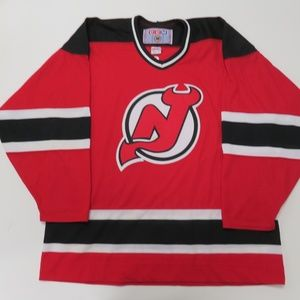 New Jersey Devils CCM Airknit Jersey XL Sewn